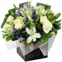 White Satin Bouquet