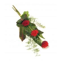3 Red Rose Sheaf