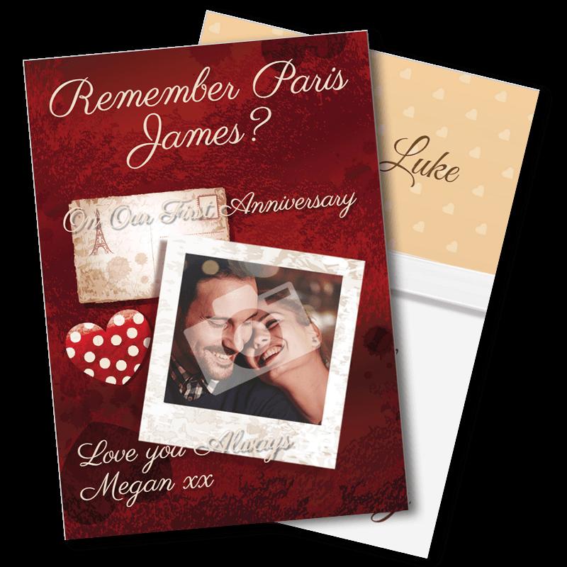 1st Wedding Anniversary - Paper