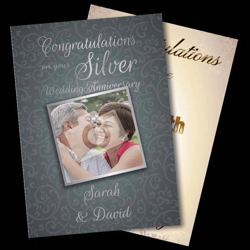25th Wedding Anniversary - Silver