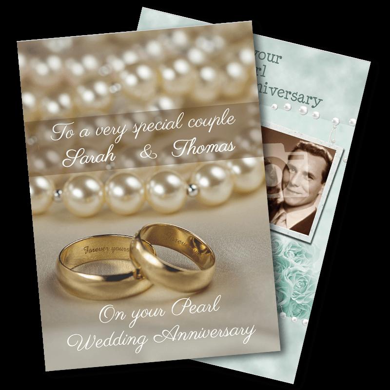 30th Wedding Anniversary - Pearl
