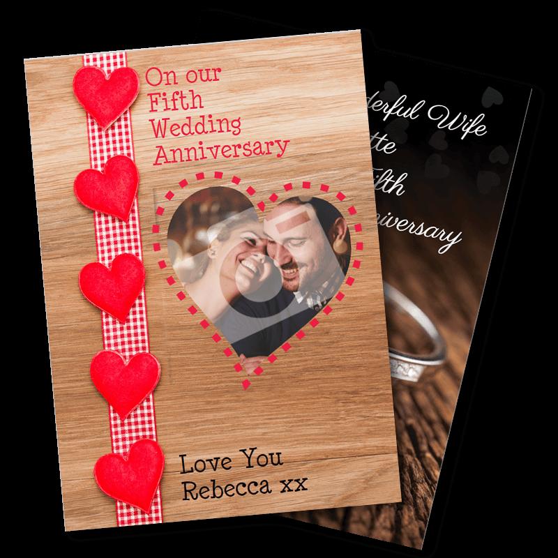 5th Wedding Anniversary - Wood