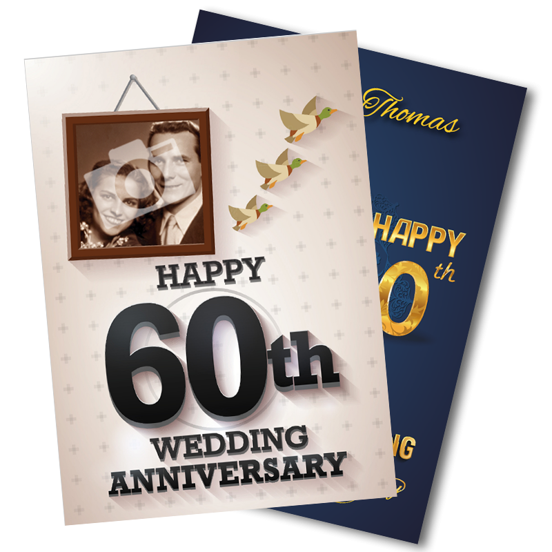 60th Wedding Anniversary - Diamond