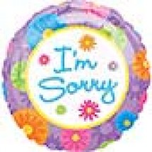 I Am Sorry Balloons