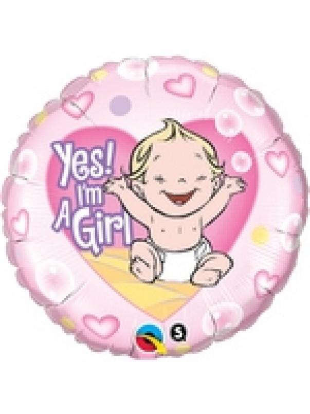New Baby Girl Balloon