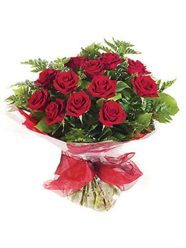 Dozen Long Stem Red Roses