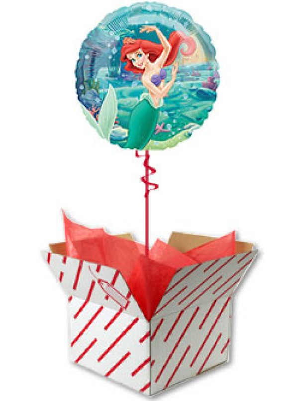 Ariel Little Mermaid Helium Balloon