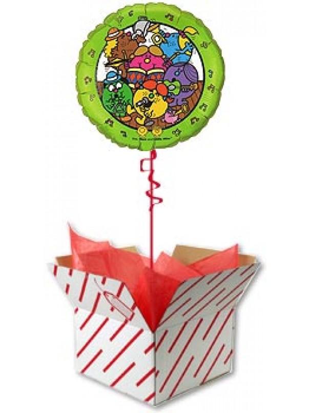 Little Miss Balloon in a box