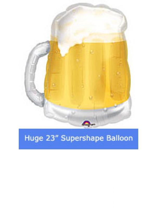 Giant Beer Mug Helium Balloon