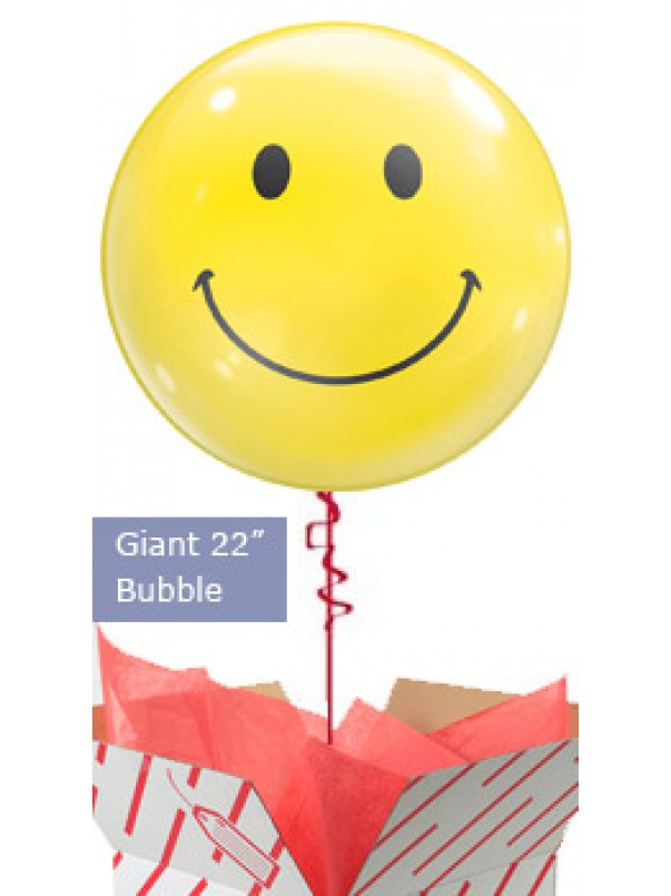 Giant Smiley Face Balloon
