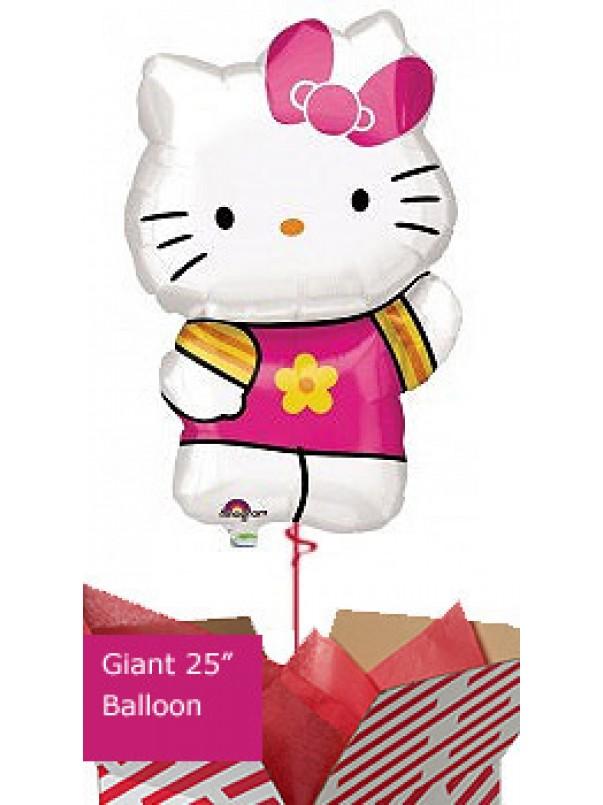Large Hello Kitty Balloon