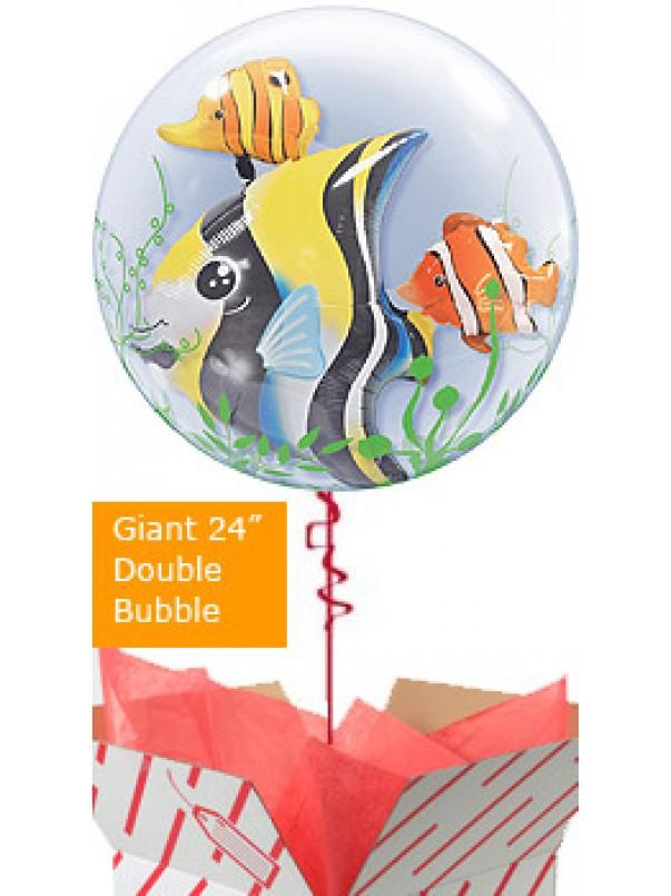 Tropical Fish Helium Balloon