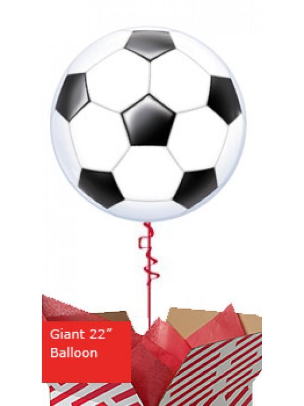 Large Football Bubble Balloon