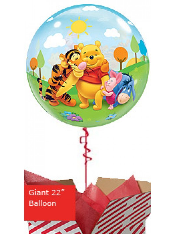 Large My Friends Tiger and Pooh Balloon