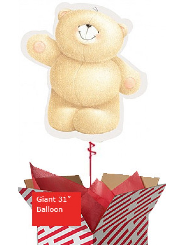 Large Forever Friends Bear Balloon