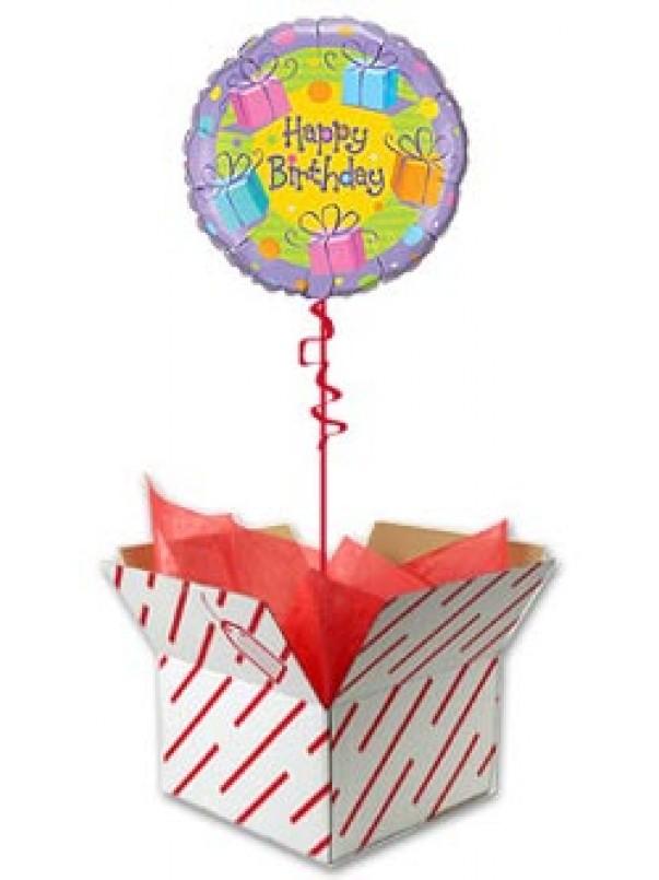 Birthday Festive Presents Balloon