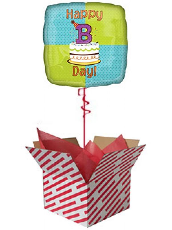 Happy B Day Balloon