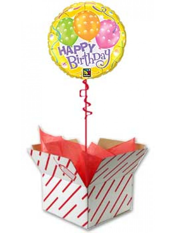 Birthday Polka Dots - Birthday Balloon UK