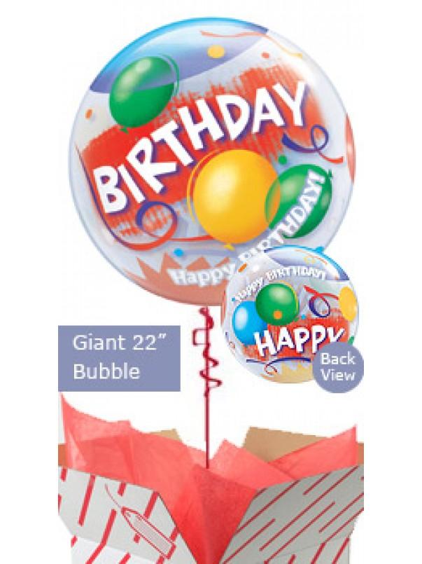 Large Birthday Celebration Helium Balloon
