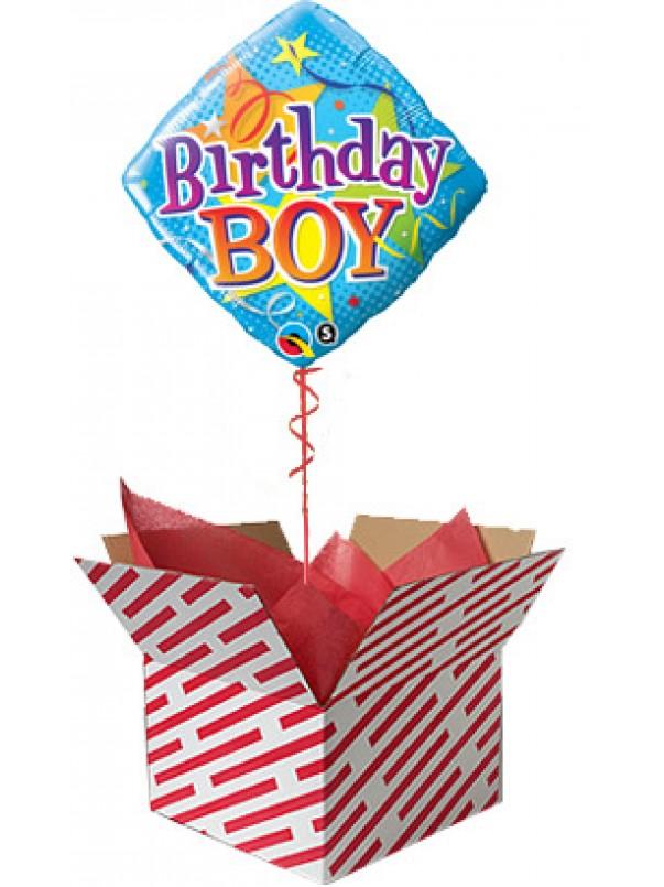Birthday Boy Stars Balloon