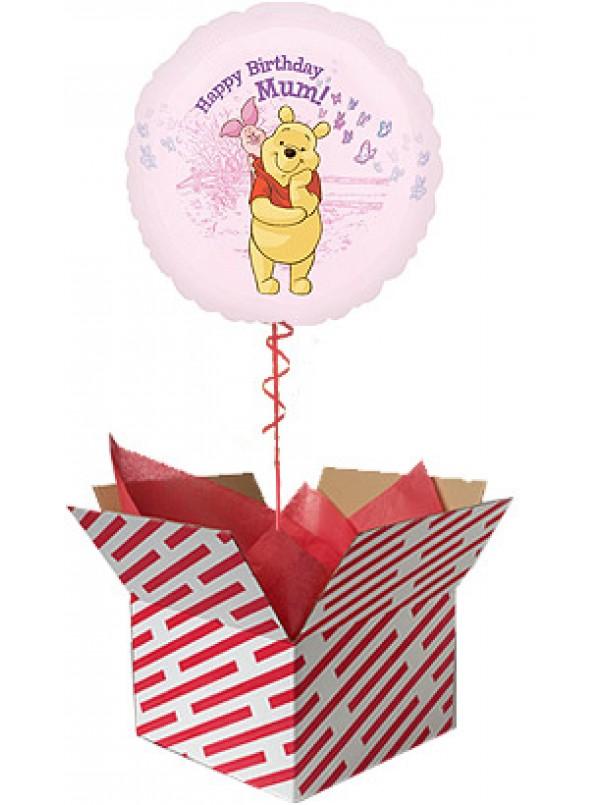 Happy Birthday Mum Winnie The Pooh Balloon