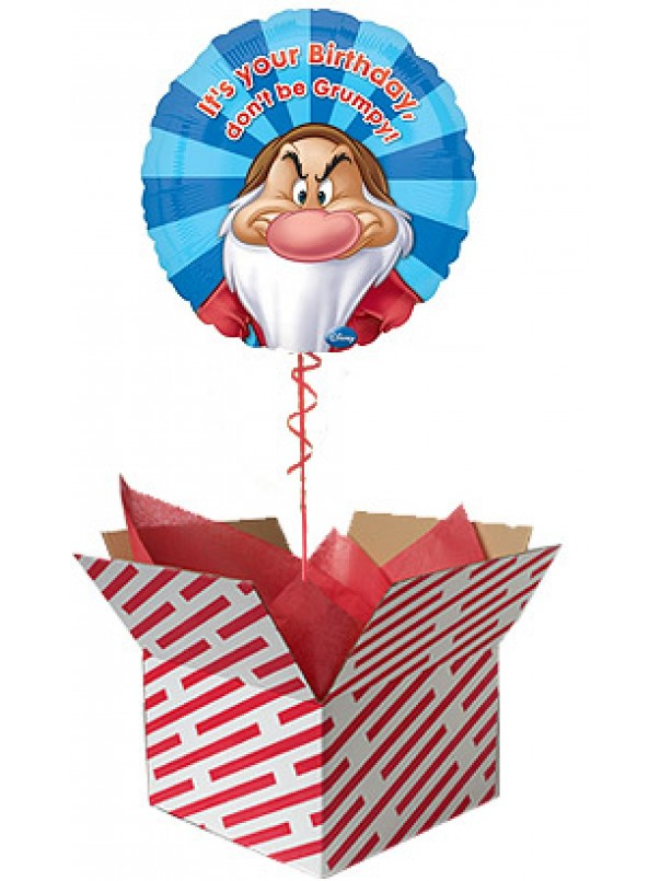 It's Your Birthday - Don't be Grumpy Balloon