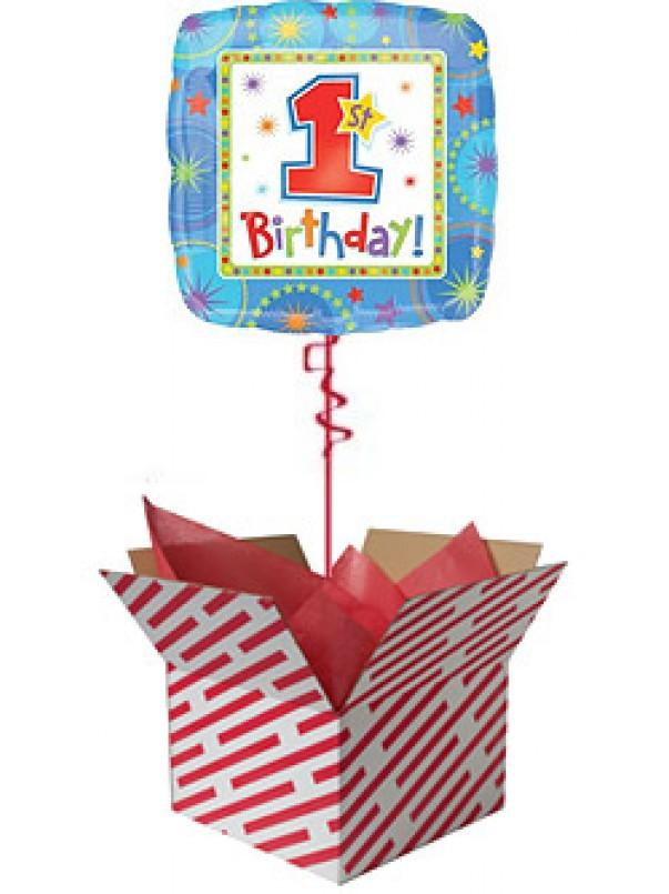 Baby Boy 1st Birthday Balloon