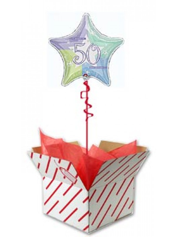 Birthday Shimmer - 50th Birthday Gift Idea
