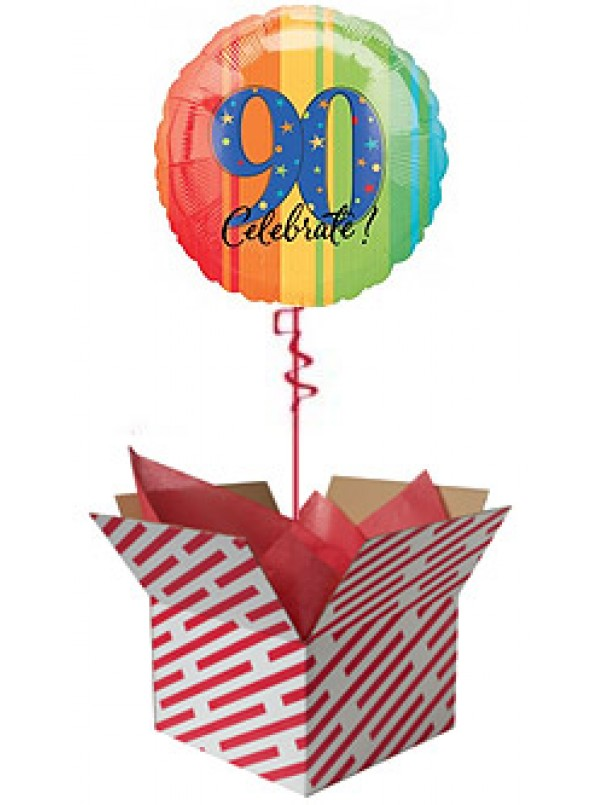 Celebrate 90th Birthday Balloon Gift