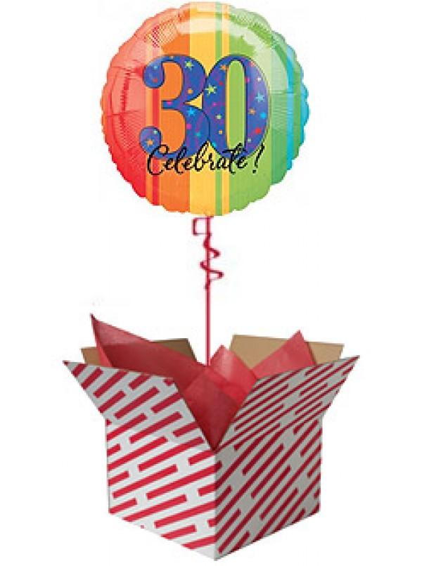 Celebrate 30th Birthday Balloon