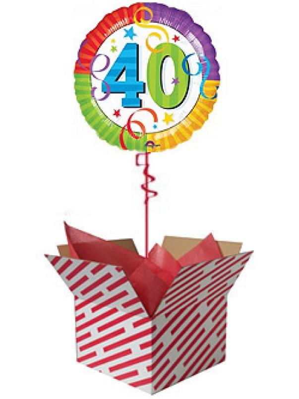 Perfection 40 Birthday Balloon