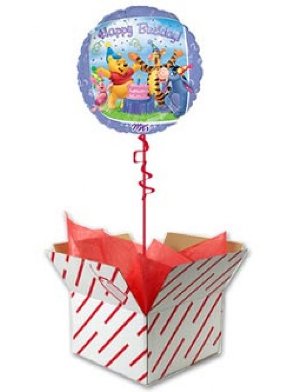 Winnie the Pooh and Friends - Happy Birthday Balloon