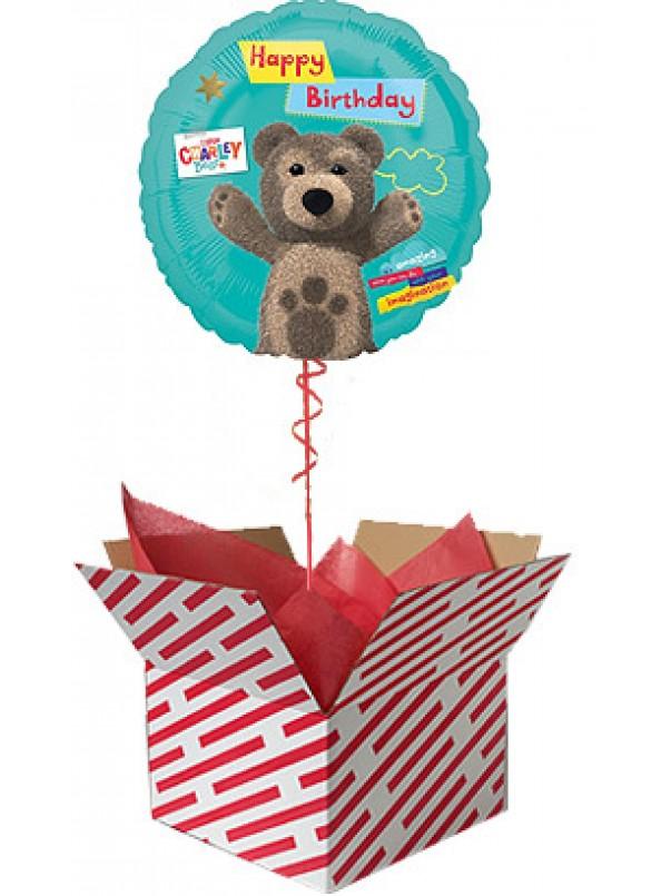 Little Charley Bear Happy Birthday Balloon