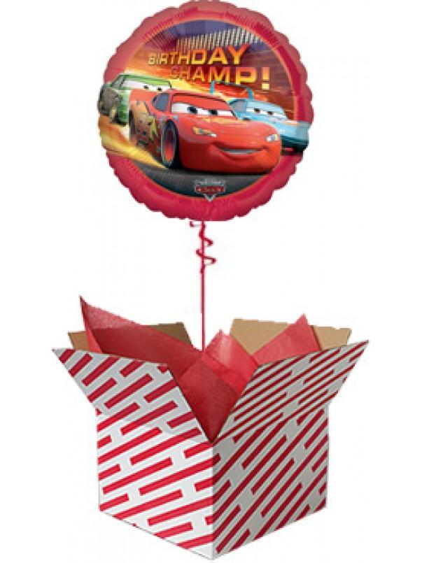 Disney Cars Birthday Champion Balloon