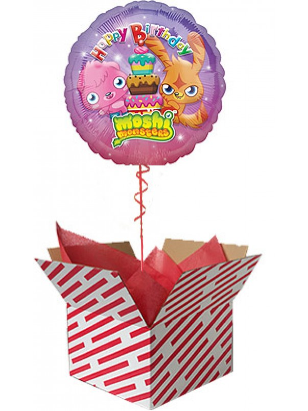 Moshi Monsters Happy Birthday Balloon