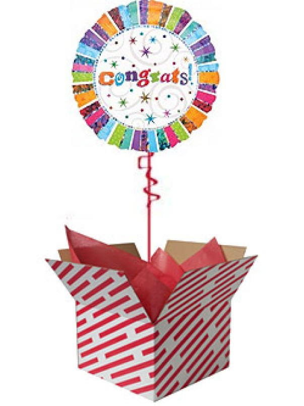 Radiant Congratulations Balloon Gift
