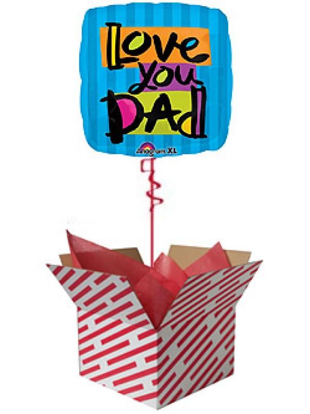 Love You Dad Balloon
