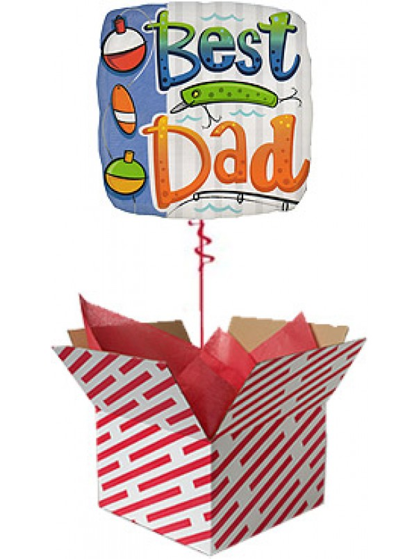 Best Dad Balloon Gift