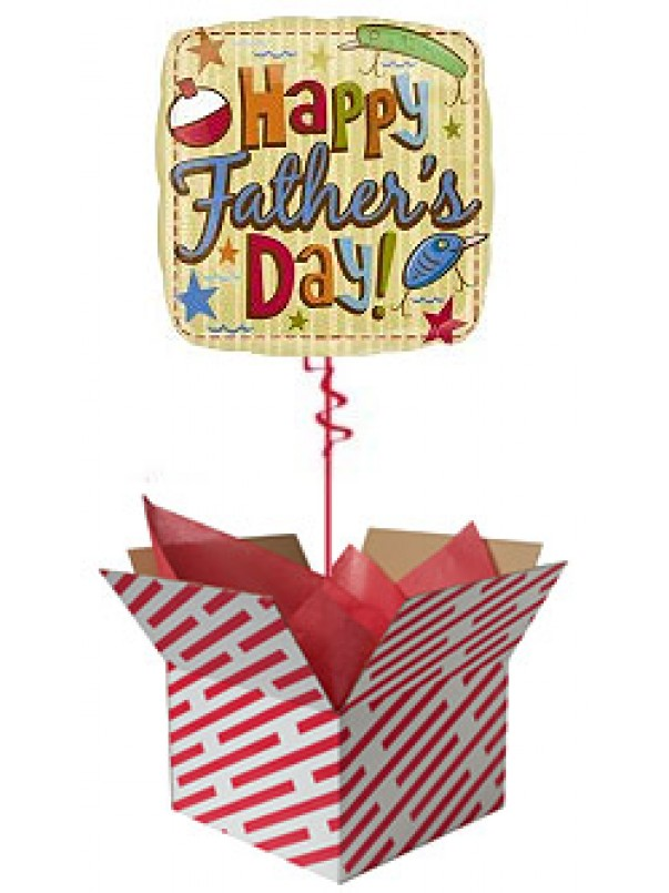Hooks and Bobbers Father's Day Balloon