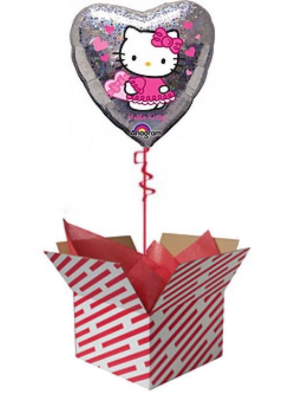 Hello Kitty Love Hearts Balloon
