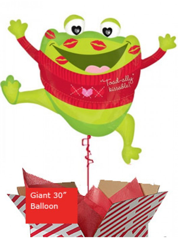 Large Toad-ally Kissable Balloon