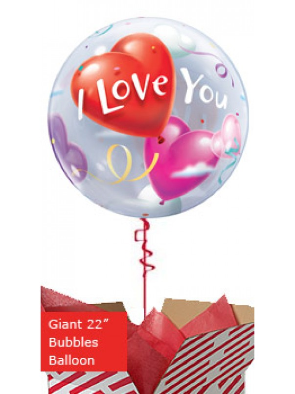 Large I Love You Hearts Balloon