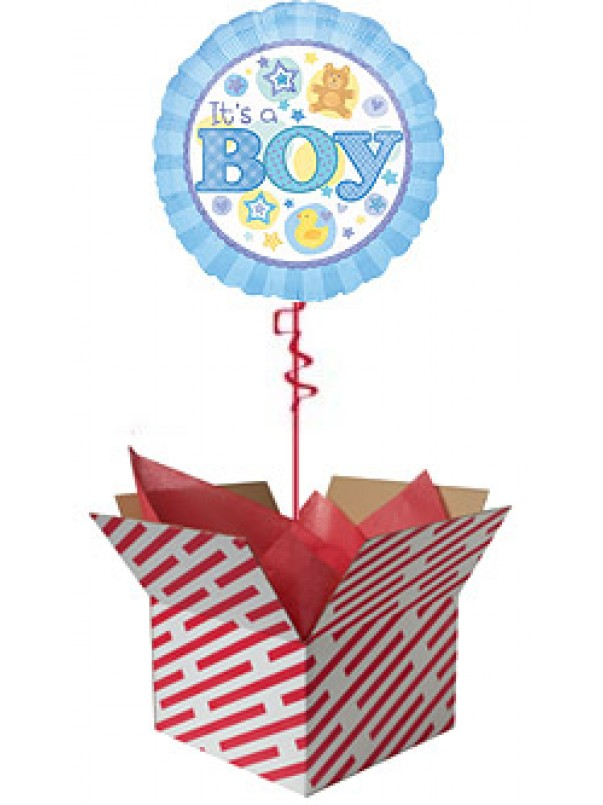 It's A Boy Balloon Gift