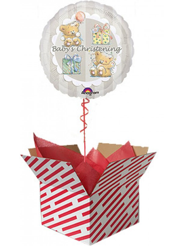 Baby's Christening Balloon