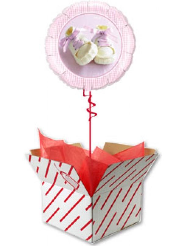 Baby Girl Shoes Balloon