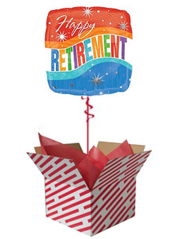 Happy Retirement Sparkles Balloon