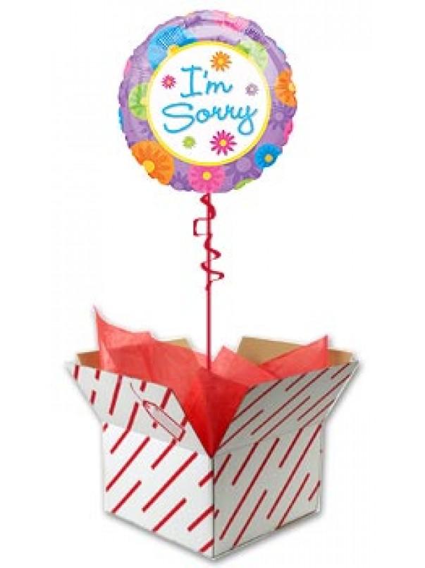 I'm Sorry Balloon Gift