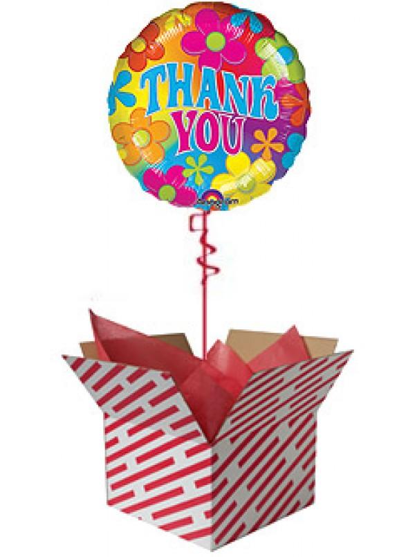 Retro Thank You Balloon Gift