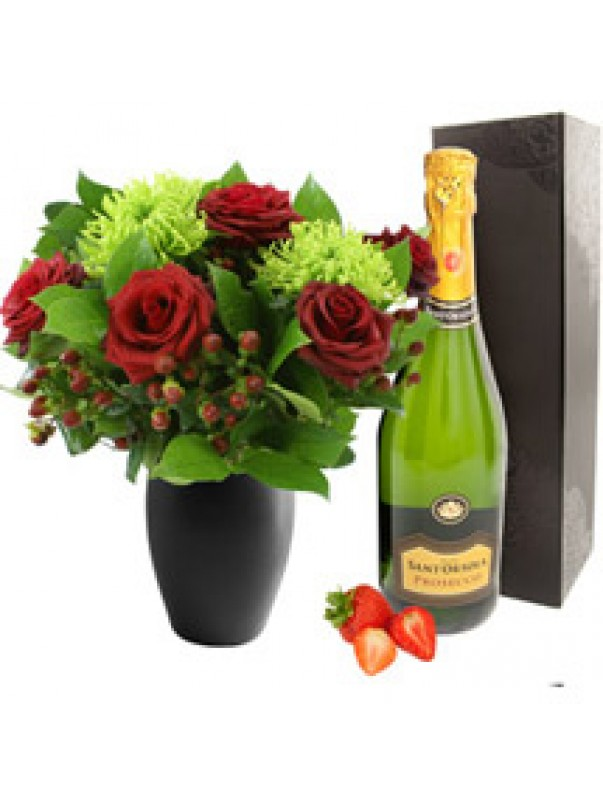 Be My Valentine with Prosecco Bubbly
