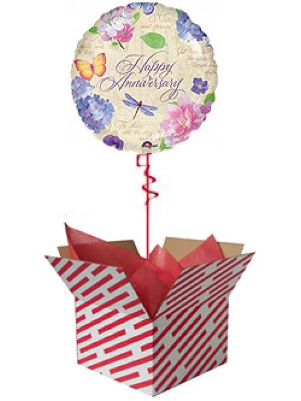 Anniversary Garden Balloon Gift